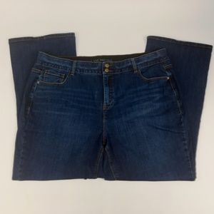Lane Bryant Jeans Size 24 High Rise Boot Cut